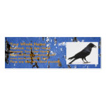 175, crow, Your Whole Name, Facebook: Your User... Business Cards