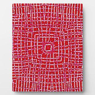 175 RED WHITE SPIDERWEB GRAPHICS DIGITAL WALLPAPER PLAQUE