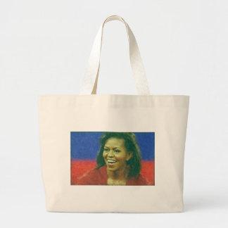 175obamaMichelle Obama_Painting Bolsas