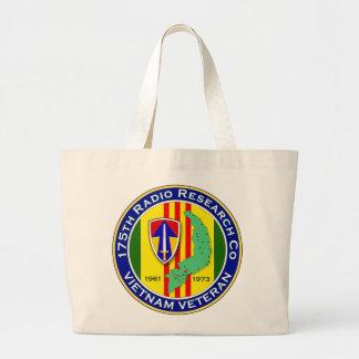 175th RRC 2 - ASA Vietnam Large Tote Bag