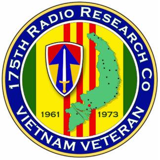 175th RRC 2 - ASA Vietnam Photo Sculpture Keychain