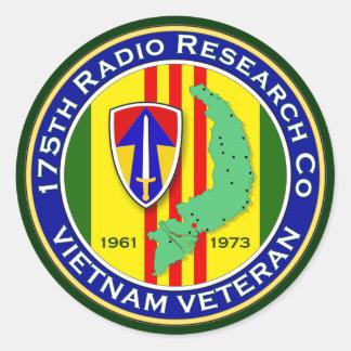 175th RRC 2 - ASA Vietnam Classic Round Sticker