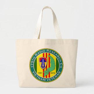 175th RRC - ASA Vietnam Large Tote Bag