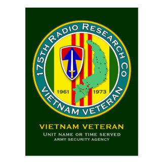175th RRC - ASA Vietnam Postcard