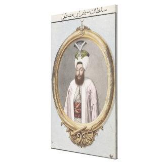 1761-1808) sultanes de Selim III (1789-1807, 'de u Impresión En Lona
