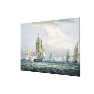 1764-1840) escuadrillas de sir Sidney Smith (que d Lona Estirada Galerias