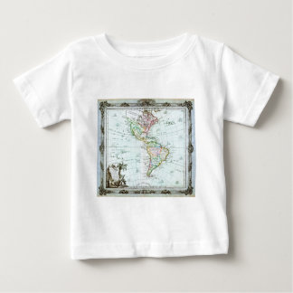 1764 Brion de la Tour Map of America North Ameri Baby T-Shirt