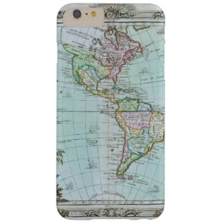 1764 Map of the Americas by Louis Brion de la Tour Barely There iPhone 6 Plus Case