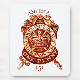1765 American Tax Stamp Mouse Pad