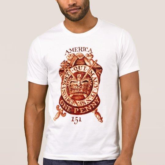 1765 American Tax Stamp T-Shirt