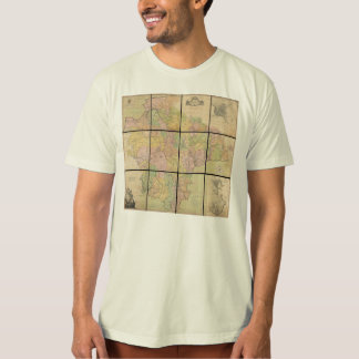 1765 Map of Devonshire by Benjamin Donn T-Shirt