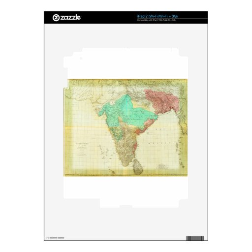 1768 los indies del este con los caminos calcomanías para el iPad 2