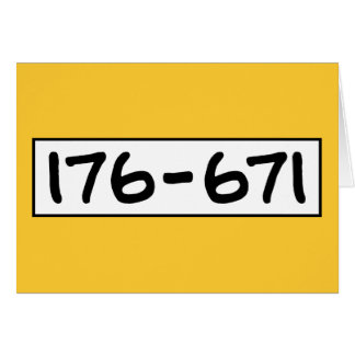 176-671 FELICITACIONES