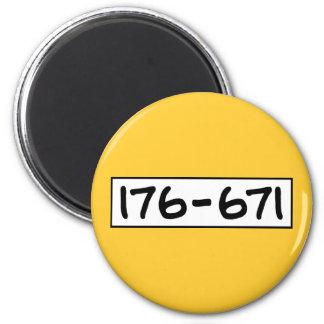176-671 IMÁN REDONDO 5 CM