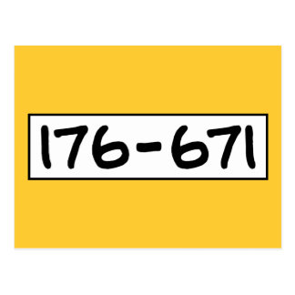 176-671 POSTAL