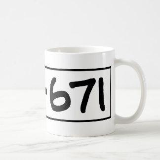 176-671 TAZA DE CAFÉ