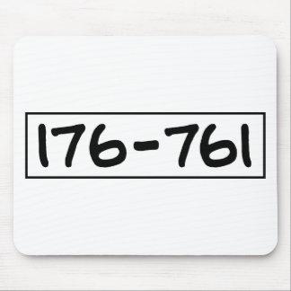 176-761 ALFOMBRILLAS DE RATONES