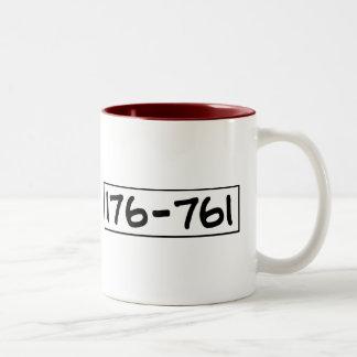 176-761 TAZAS DE CAFÉ
