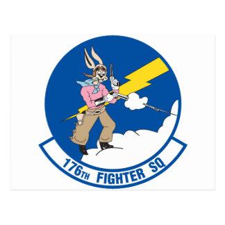 176o Escuadrón de caza Tarjeta Postal