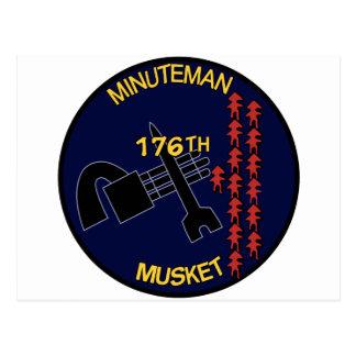 176o Mosquete del Minuteman de AHC Postales