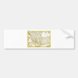 1771 Janvier Map of Greece Turkey Macedonia anda Bumper Sticker