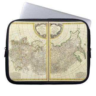 1771 Rigobert Bonne Map of Russia Computer Sleeve