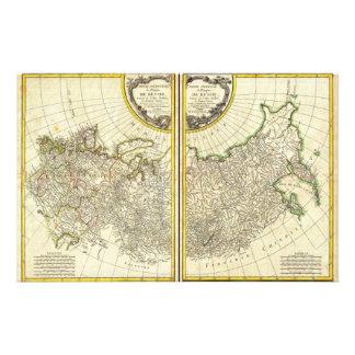 1771 Rigobert Bonne Map of Russia Stationery