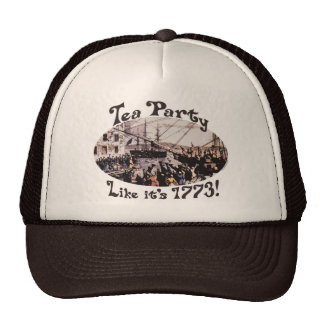 1773 Boston Tea Party Shirts and Gifts for Today Mesh Hat
