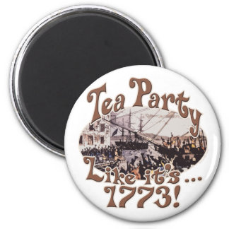 1773 Boston Tea Party Shirts and Gifts for Today Magnet