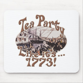 1773 Boston Tea Party Shirts and Gifts for Today Mouse Pad