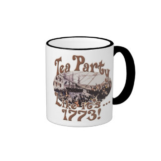 1773 Boston Tea Party Shirts and Gifts for Today Mug