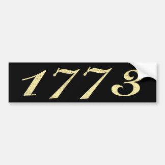 1773 BUMPER STICKER