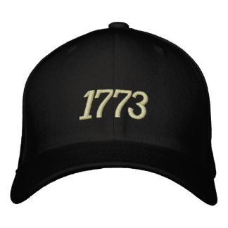 1773 EMBROIDERED BASEBALL CAP