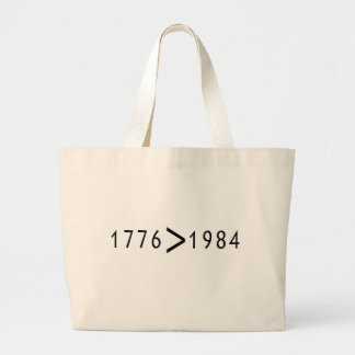 1776 > 1984 CANVAS BAG