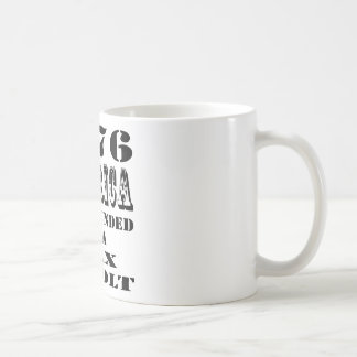 1776 America Was Founded On A Tax Revolt Coffee Mug