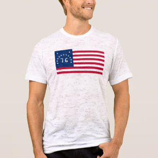 1776 Bennington Flag T-Shirt