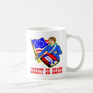 1776 Liberty Or Death Coffee Mug