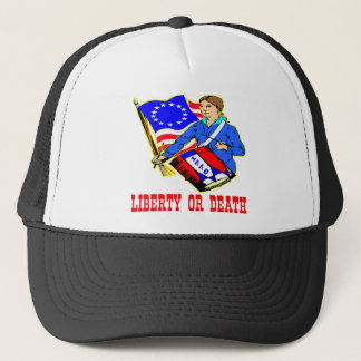 1776 Liberty Or Death Trucker Hat