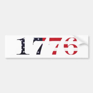 1776 Logo Bumper Sticker
