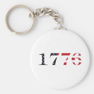 1776 Logo Keychain