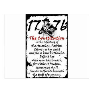 1776 POST CARDS