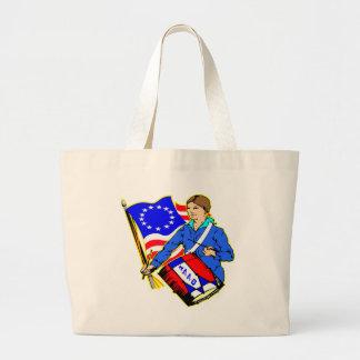 1776 Revolutionary War For Independence Tote Bag