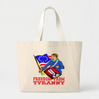 1776 Revolutionary War Freedom From Tyranny Canvas Bag