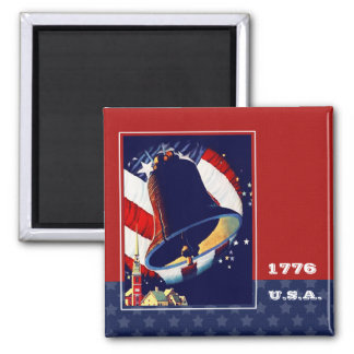 1776 USA . Vintage Liberty Bell Magnets