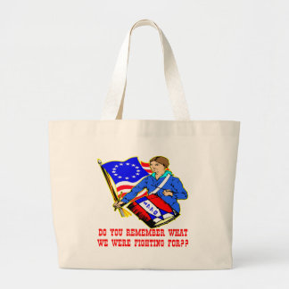 1776 What Were We Fighting For Canvas Bag