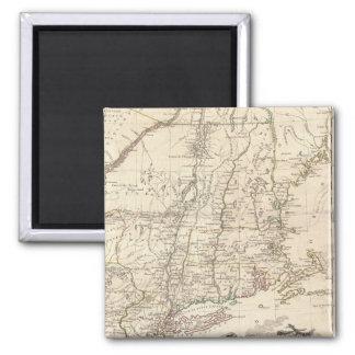 1777 Map of New England Fridge Magnet