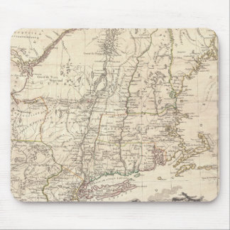 1777 Map of New England Mouse Pad