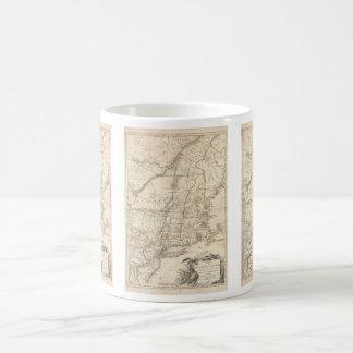 1777 Map of New England Classic White Coffee Mug
