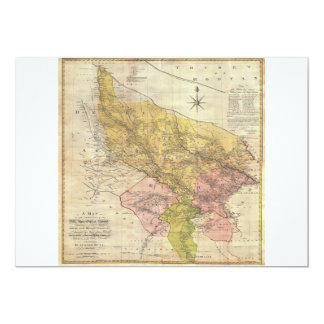 1777 Rennell Dury Wall Map of Delhi and Agra India Card