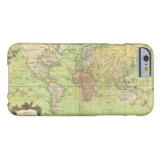 1778 Bellin Nautical Chart or Map of the World Barely There iPhone 6 Case